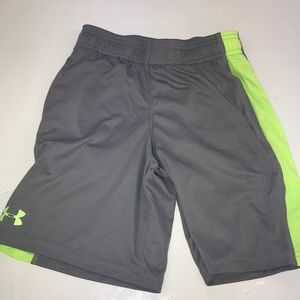 Under armor shorts size boys youth small